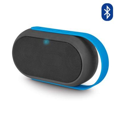 Enceinte Bluetooth avec radio FM, lecteur de carte microSD & port USB - Bleu