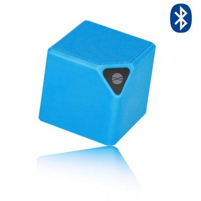 Enceinte Bluetooth 3 W multifoctions avec radio FM intégrée - Bleu