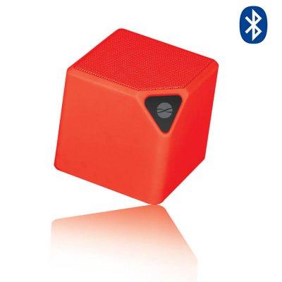 Enceinte Bluetooth 3 W multifoctions avec radio FM intégrée - Rouge