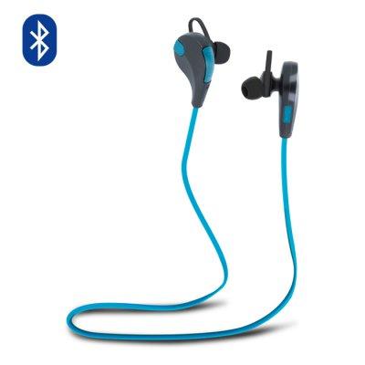 Casque Bluetooth universel avec microphone intégré - Bleu