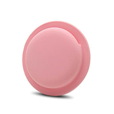Housse de Protection AirTag Ventouse en Silicone, Protection Complète Anti-Rayures Rose