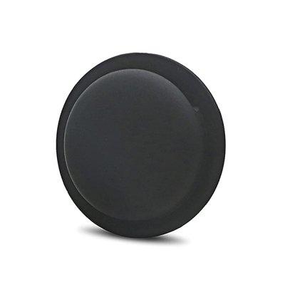 Housse de Protection AirTag Ventouse en Silicone, Protection Complète Anti-Rayures Noir