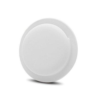 Housse de Protection AirTag Ventouse en Silicone, Protection Complète Anti-Rayures Blanc