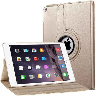 Etui de protection Or rotatif 360° pour iPad Air