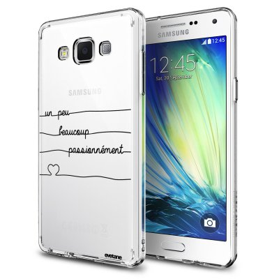 Coque rigide transparent Un peu, Beaucoup, Passionnement Samsung Galaxy Grand Prime