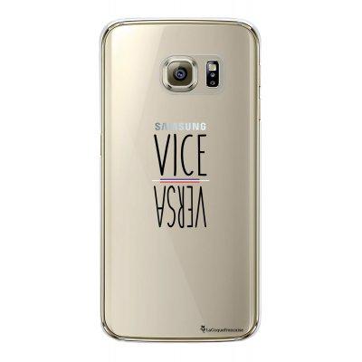 Coque rigide transparent vice versa Samsung Galaxy S6