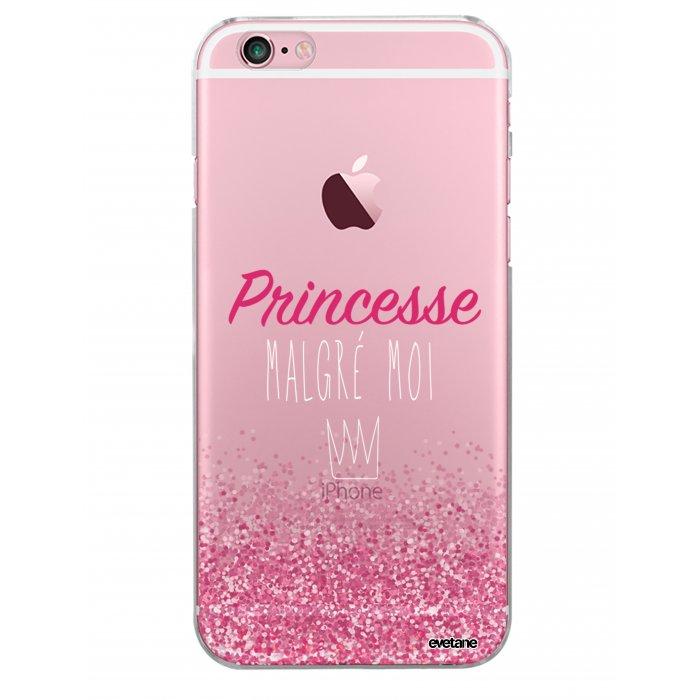 coque rigide transparent princesse malgre moi iphone 6 6s