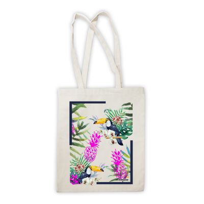 Shopping bag Jungle Tropicale