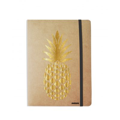 Carnet Ananas Or