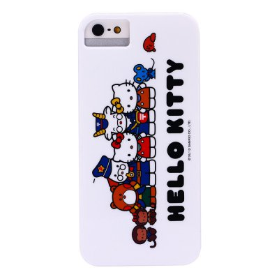 Coque rigide Hello Kitty personnages pour iPhone 5