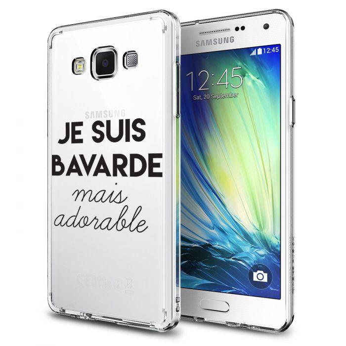 Coque Samsung Galaxy Grand Prime rigide transparente Bavarde Mais Adorable Dessin Evetane - Coquediscount