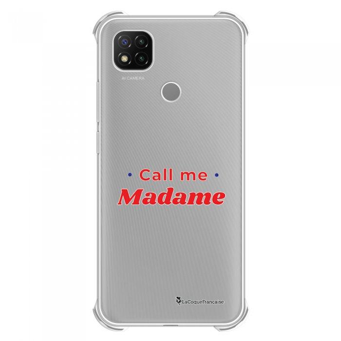 Coque Xiaomi Redmi 9C anti-choc souple angles renforcés transparente Call Me Madame La Coque Francaise