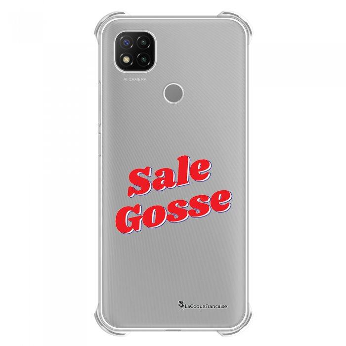 Coque Xiaomi Redmi 9C anti-choc souple angles renforcés transparente Sale Gosse Rouge La Coque Francaise