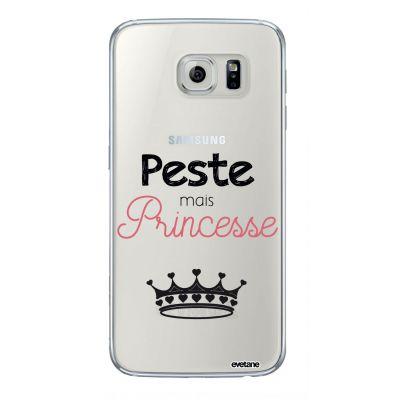 Coque souple transparent Peste mais Princesse Samsung Galaxy S6