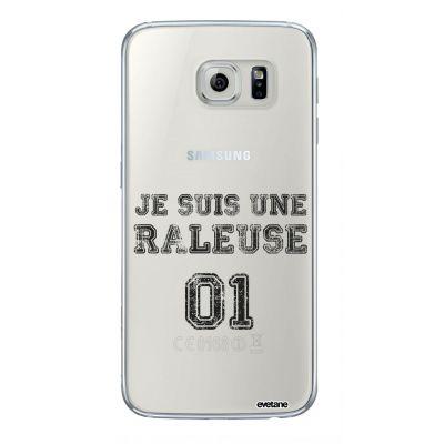 Coque souple transparent Râleuse Samsung Galaxy S6