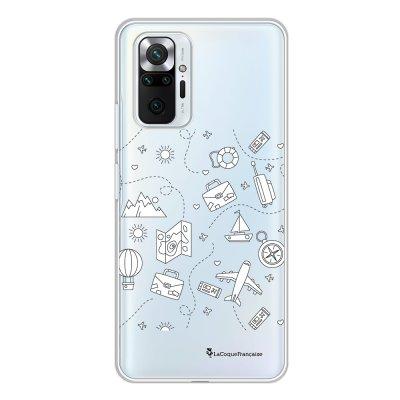 Coque Xiaomi Redmi Note 10 Pro 360 intégrale transparente Aventure Tendance La Coque Francaise.