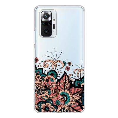 Coque Xiaomi Redmi Note 10 Pro 360 intégrale transparente Cachemire bleu corail Tendance La Coque Francaise.