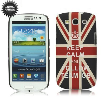 Coque Keep calm and follow team GB pour Samsung Galaxy S3