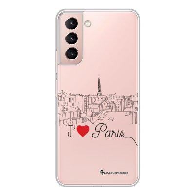 Coque Samsung Galaxy S21 Plus 5G 360 intégrale transparente J'aime Paris Tendance La Coque Francaise.