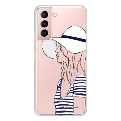 Coque Samsung Galaxy S21 Plus 5G 360 intégrale transparente Marinière 2016 Tendance La Coque Francaise.