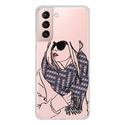 Coque Samsung Galaxy S21 Plus 5G 360 intégrale transparente Echarpe Tendance La Coque Francaise.