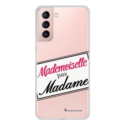 Coque Samsung Galaxy S21 Plus 5G 360 intégrale transparente Mlle pas Mme Tendance La Coque Francaise.
