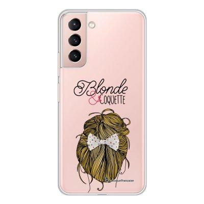 Coque Samsung Galaxy S21 Plus 5G 360 intégrale transparente Blonde et coquette Tendance La Coque Francaise.
