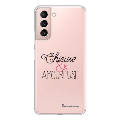 Coque Samsung Galaxy S21 Plus 5G 360 intégrale transparente Chieuse et Amoureuse Tendance La Coque Francaise.