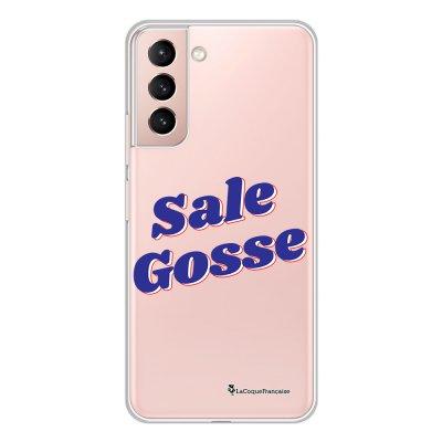 Coque Samsung Galaxy S21 Plus 5G 360 intégrale transparente Sale gosse bleu Tendance La Coque Francaise.