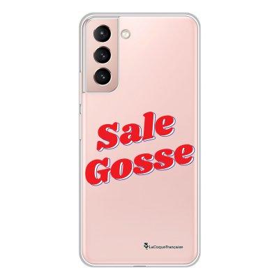 Coque Samsung Galaxy S21 Plus 5G 360 intégrale transparente Sale gosse rouge Tendance La Coque Francaise.