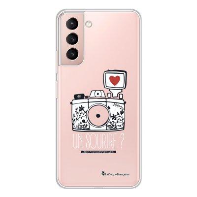 Coque Samsung Galaxy S21 Plus 5G 360 intégrale transparente Un sourire Tendance La Coque Francaise.
