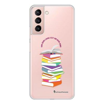 Coque Samsung Galaxy S21 Plus 5G 360 intégrale transparente Livres Tendance La Coque Francaise.