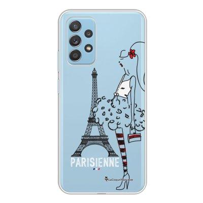 Coque Samsung Galaxy A52 souple transparente Parisienne Motif Ecriture Tendance La Coque Francaise.