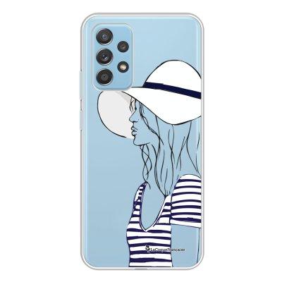 Coque Samsung Galaxy A52 souple transparente Marinière 2016 Motif Ecriture Tendance La Coque Francaise.