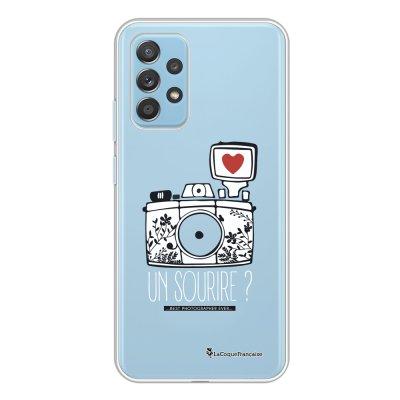 Coque Samsung Galaxy A52 souple transparente Un sourire Motif Ecriture Tendance La Coque Francaise.