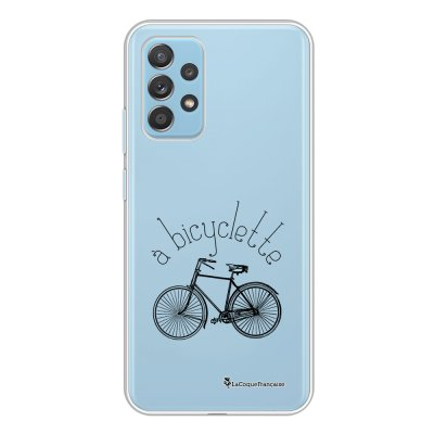 Coque Samsung Galaxy A52 souple transparente Bicyclette Motif Ecriture Tendance La Coque Francaise.
