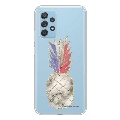Coque Samsung Galaxy A52 souple transparente Ananas à la Française Motif Ecriture Tendance La Coque Francaise.