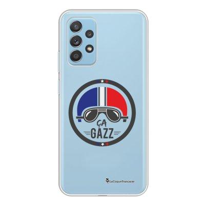 Coque Samsung Galaxy A52 souple transparente Ca gazz Motif Ecriture Tendance La Coque Francaise.
