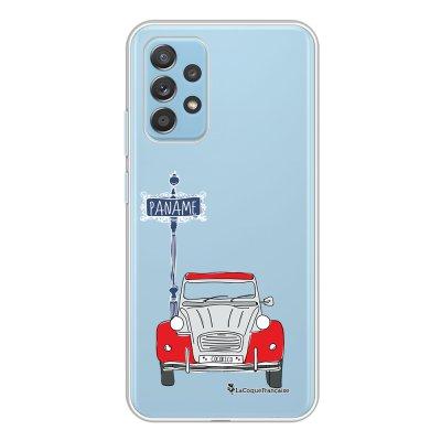Coque Samsung Galaxy A52 souple transparente 2CV cocorico blanc Motif Ecriture Tendance La Coque Francaise.