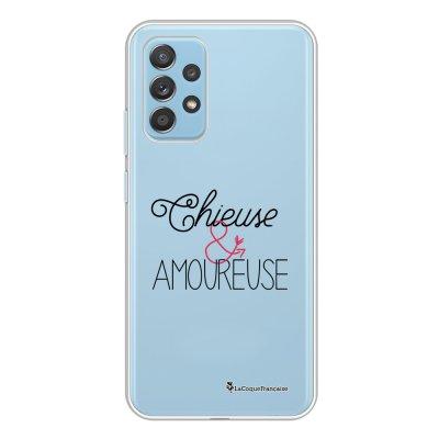 Coque Samsung Galaxy A52 souple transparente Chieuse et Amoureuse Motif Ecriture Tendance La Coque Francaise.