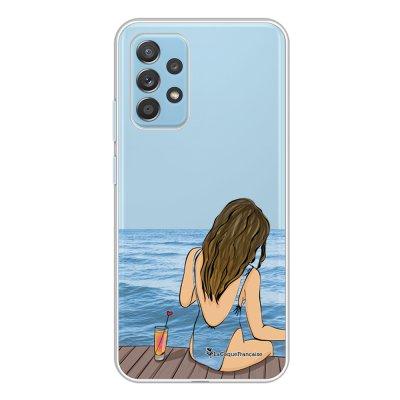 Coque Samsung Galaxy A52 souple transparente Au bord de l'eau Motif Ecriture Tendance La Coque Francaise.