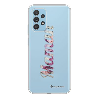 Coque Samsung Galaxy A52 souple transparente Maman Fleur Motif Ecriture Tendance La Coque Francaise.