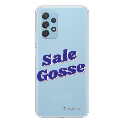Coque Samsung Galaxy A52 souple transparente Sale gosse bleu Motif Ecriture Tendance La Coque Francaise.