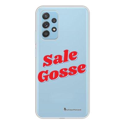 Coque Samsung Galaxy A52 souple transparente Sale gosse rouge Motif Ecriture Tendance La Coque Francaise.