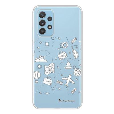 Coque Samsung Galaxy A52 souple transparente Aventure Motif Ecriture Tendance La Coque Francaise.