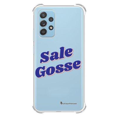 Coque Samsung Galaxy A52 anti-choc souple angles renforcés transparente Sale gosse bleu La Coque Francaise.