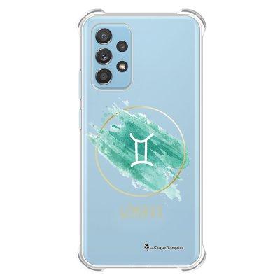 Coque Samsung Galaxy A52 anti-choc souple angles renforcés transparente Gémeaux La Coque Francaise.