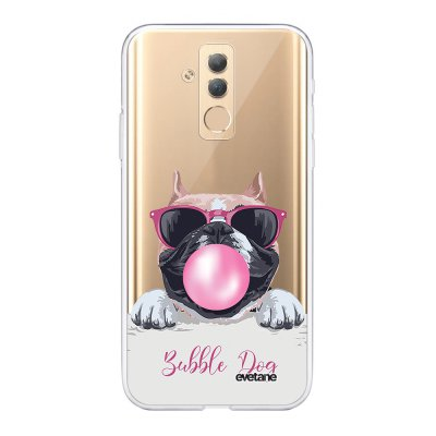 Coque Huawei Mate20 Lite 360 intégrale transparente Bubble Dog Tendance Evetane.