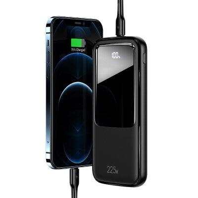 Batterie externe avec charge rapide et affichage numérique 10 000mAh - Noir