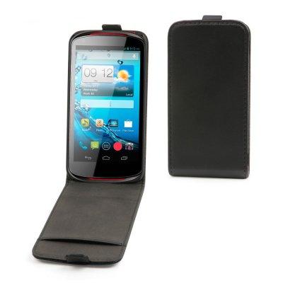 Etui clapet Noir Slim S ELine Compatible Acer Liquid E1